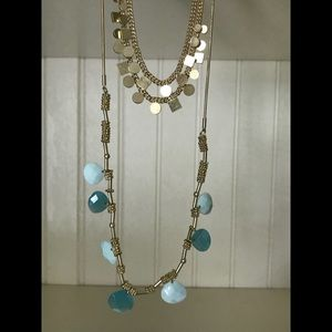 "Ionna & Lilly (2 in 1) 28"" Multi Layer Necklace"